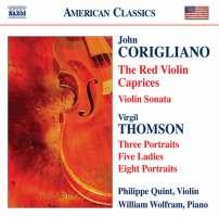 Corigliano John: Red Violin Caprices