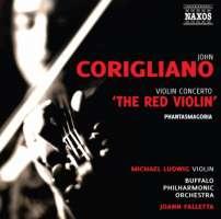 "Corigliano Violin Concerto ""The Red Violin"", Phantasmagoria"