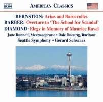 Bernstein: Arias and Barcarolles, Barber, Diamond