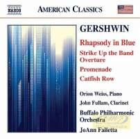 Gershwin: Rhapsody in Blue, Strike Up the Band Overture, Promenade