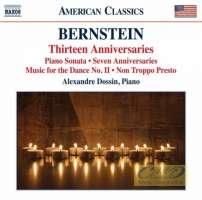 Bernstein: Piano Music - Thirteen Anniversaries