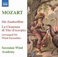 Mozart: Die Zauberflöte, La Clemenza di Tito (arr. for wind ensemble)