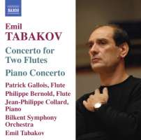 Tabakov: Concerto for 2 Flutes