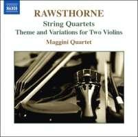 Rawsthorne: String Quartets Nos. 1-3