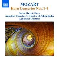 MOZART.: Horn Concertos Nos. 1 – 4