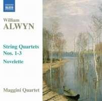 Alwyn William: String Quartets Nos. 1-3/8.570560