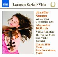 Rolla: Viola Sonatas, Duetto for violin and viola, Esercizi