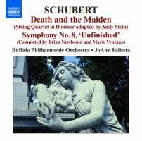 Schubert: Der Tod und das Mädchen (adapted for orchestra), Symphony No. 8 (completed by Brian Newbould)