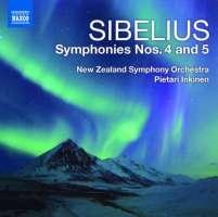 Sibelius: Symphonies Nos. 4 and 5