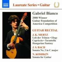 Guitar Recital - Gabriel Bianco - Mertz, Bach, Koshkin