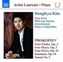 Prokofiev: 4 Etudes Op. 2, Pieces Op. 3 & 32, Sonata No. 5, Sonatinas