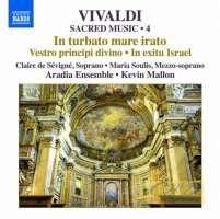Vivaldi: Sacred Music Vol. 4 - In turbato mare irato In exitu Israel …