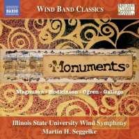 Monuments - Music for Wind Symphony