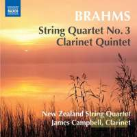 Brahms: String Quartet No. 3; Clarinet Quintet