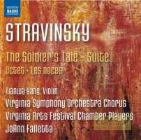 Stravinsky: Soldier's Tale Suite; Octet; Les Noces