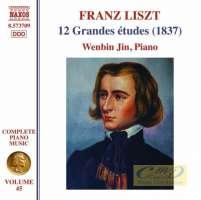 Liszt: Complete Piano Music Vol. 45 - 12 Grandes études