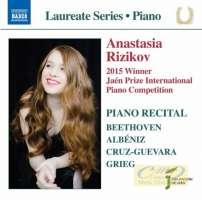 Piano Laureate Recital: Anastasia Rizikov – Beethoven, Albeniz, Grieg