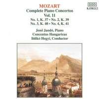 Mozart: Piano Concertos 1-4