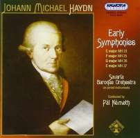 Haydn J. M.: Early symphonies
