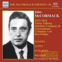 McCormack Edition Vol. 10 - nagr. 1923-1924