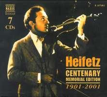 Heifetz Centenary Memorial Edition