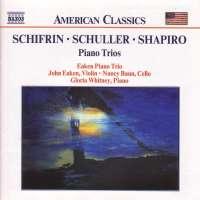Schifrin / Schuller / Shapiro: Piano Trios