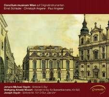 Haydn, Johann Michael: Symphony No. 39, W.A. Mozart: Concerto for Basset Clarinet, Joseph Haydn: Symphony No. 101