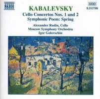 KABALEVSKY: Cello Concertos