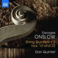 Onslow: String Quintets Vol. 2