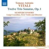 VITALI: Trio Sonatas, Op. 1
