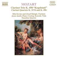 Mozart: Piano Trio, K. 498, Violin Sonata No. 26 (arr. for clarinet and string trio)