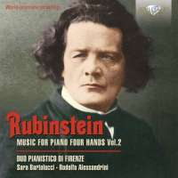 Rubinstein: Music for Piano Four Hands Vol. 2