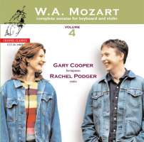 Mozart:  Complete sonatas for keyboard and violin vol. 4