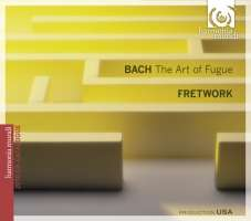 Bach: The art of Fugue BWV 1080 CD+katalog