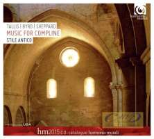 WYCOFANE   Music for Compline – Tallis,  Byrd,  Sheppard (CD + katalog)