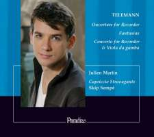 Telemann: Ouverture a minor, Fantasias, Concerto