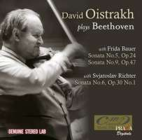 WYCOFANY   Oistrakh, David plays Beethoven: Sonatas Nos. 5; 6 & 9