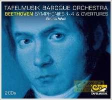 Beethoven: Symphonies 1 - 4 & Overtures