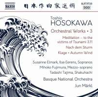Hosokawa: Orchestral Works Vol. 3