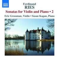 Ries: Sonatas for Violin and Piano Vol. 2