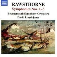 RAWSTHORNE: Symphonies Nos. 1-3