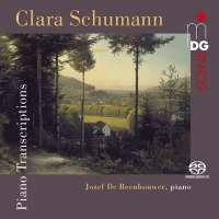 Clara Schumann: Piano Transcriptions