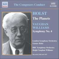 HOLST: The Planets / VAUGHAN WILLIAMS: Symphony No. 4 (1926, 1937)