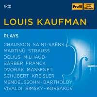 Louis Kaufman Plays