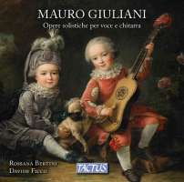Giuliani: Works for voice and guitar