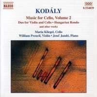 KODALY: Music for Cello vol. 2
