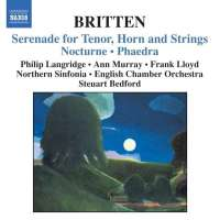 BRITTEN: Serenade for Tenor, Horn, and Strings