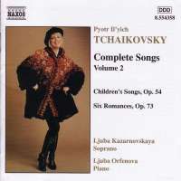 TCHAIKOVSKY: Complete Songs vol. 2