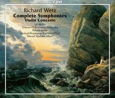 Wetz: Complete Symphonies & Violin Concerto