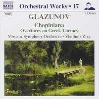 GLAZUNOV: Orchestral works vol.17
